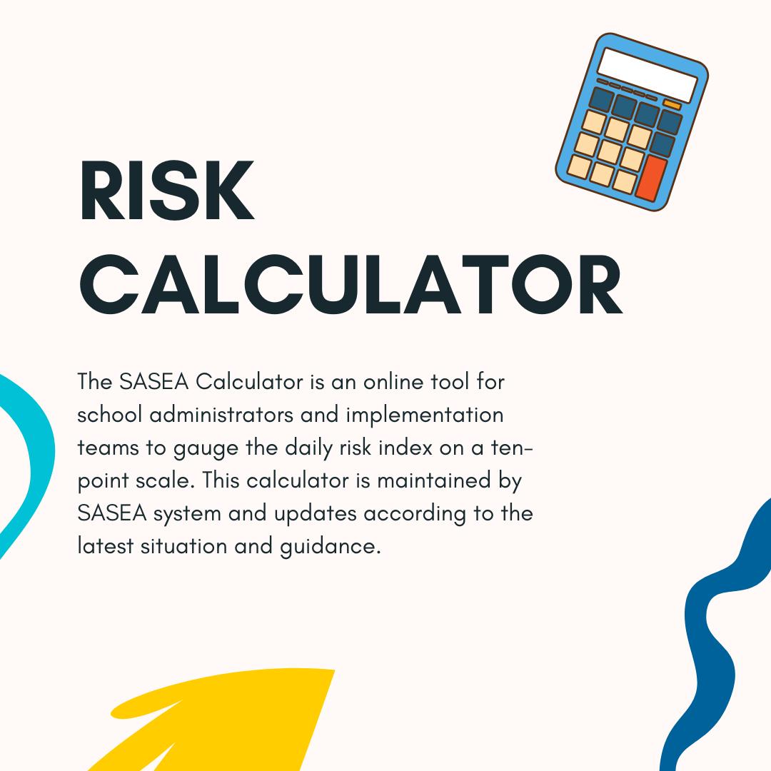 SASEA Risk Calculator online tool