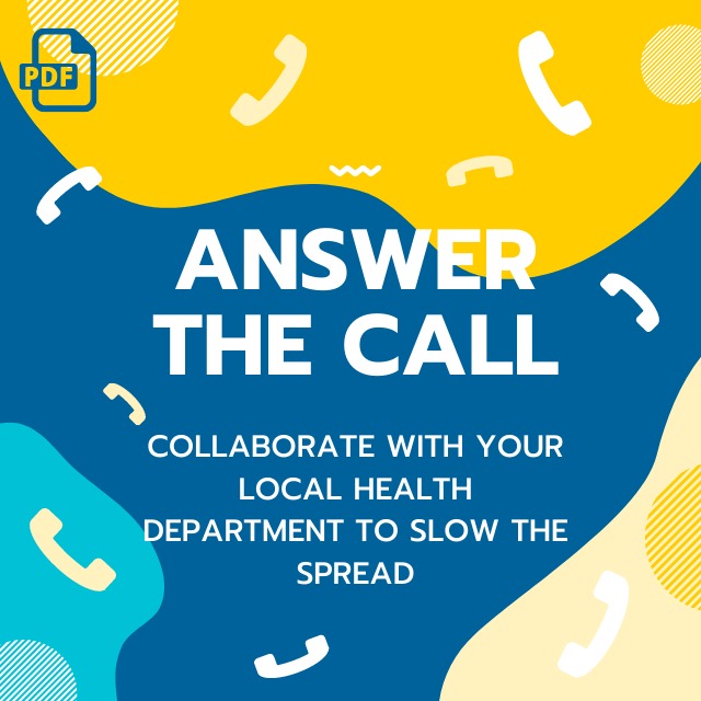 SASEA: Answer the call, slow the spread of COVID-19